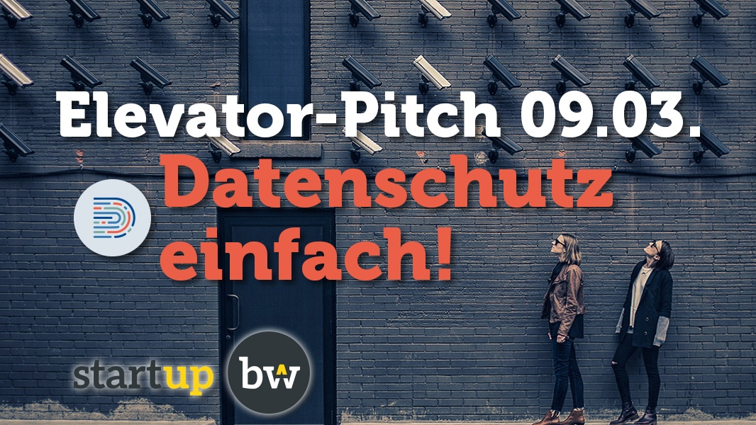 Gründermesse in Reutlingen & Start-up BW Elevator Pitch
