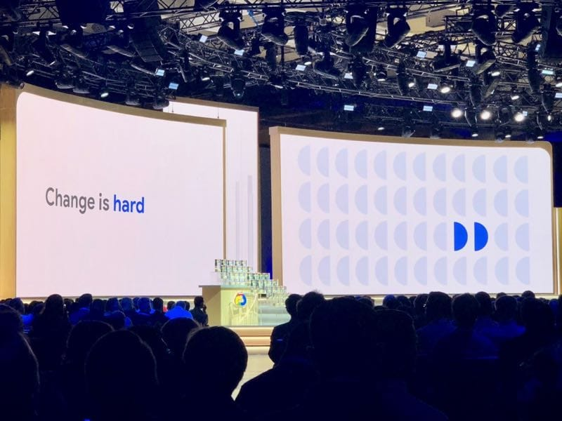 Google Cloud Next 2019 - Keynote - Change is hard