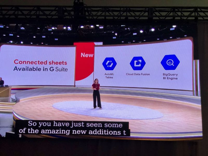 Google Cloud Next 2019 - Connected Sheets for G Suite
